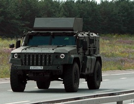 Lộ diện xe bọc thép mới của lực lượng đổ bộ đường không Nga