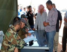 Phiến quân khắp Syria đồng ý từ bỏ cuộc chiến chống chính phủ