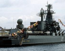 Nga: Tuần dương hạm Admiral Ustinov bắt đầu giai đoạn chạy thử nghiệm