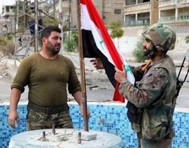 Quân đội Syria đạt được những bước tiến mới ở Damascus