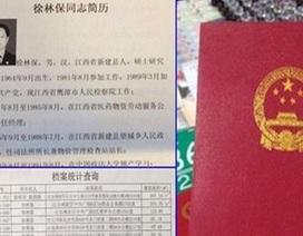 """Trung Quốc: Cán bộ """"quèn"""" có 380 nhà, 2 vợ, 4 con ngoài giá thú"""