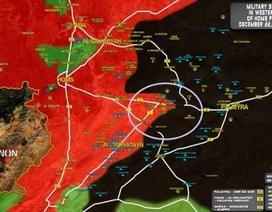 Không quân Nga thét lửa, Syria giành thêm vùng đệm Palmyra