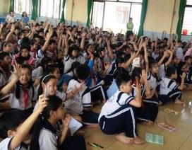 Học trò tiểu học được dạy về phòng chống xâm hại tình dục