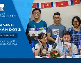 Trường Đại học Việt Pháp xét tuyển đợt 3