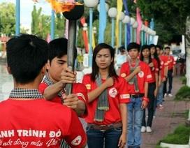 Hành trình đỏ 2016: Kỳ vọng 20.000 đơn vị máu cứu giúp bệnh nhân
