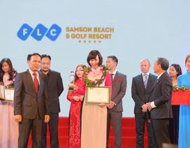 FLC Sầm Sơn vào Top 5 Khu du lịch hàng đầu Việt Nam năm 2016