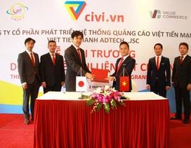 VTM group ra mắt nền tảng Tiếp thị liên kết Civi.vn hợp tác với công ty Nhật Bản