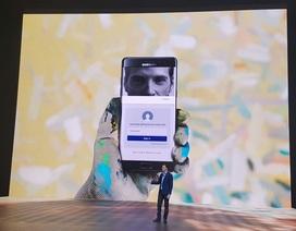 """Quét mống mắt đưa Galaxy Note7 """"lên ngôi"""" về khả năng bảo mật"""