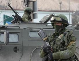 Nga điều vũ khí khủng tập kết tại Crimea