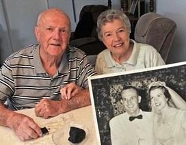 Ăn bánh cưới gìn giữ suốt 60 năm để kỷ niệm tình yêu