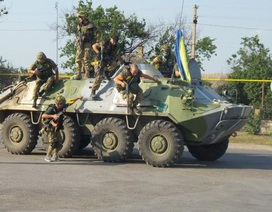 Căng thẳng Ukraine- Nga: Cuộc tập trận của Kiev