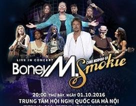 Boney M và Chris Norman của Smokie sắp giao lưu với khán giả Việt Nam