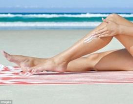 Dùng mỹ phẩm chống nắng cao giúp giảm 1/3 nguy cơ bị ung thư da