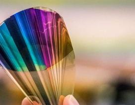Giấy điện tử uốn cong hiển thị toàn bộ dải màu