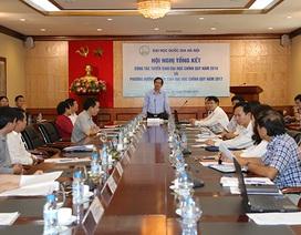 Năm 2017, ĐH Quốc gia Hà Nội mở rộng kỳ thi đánh giá năng lực trên toàn quốc