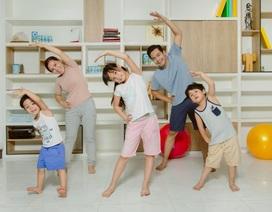 Đốn tim với loạt ảnh năng động của gia đình sao Việt