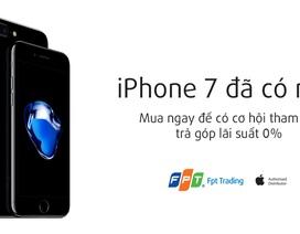 FPT Trading chính thức bán iPhone 7 và iPhone 7 Plus từ 11/11
