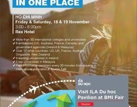 Cùng ILA Du học tham dự Hội thảo Du học quốc tế BMI