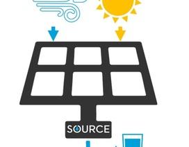 Thiết bị sử dụng năng lượng mặt trời biến không khí thành nước uống