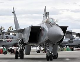 Nga công bố lý do triển khai máy bay tiêm kích Mig-31 tới Syria