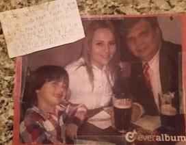 Nghẹn ngào bức thư con trai gửi người cha đã mất