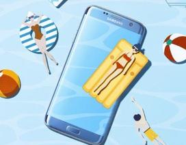 """Khi Galaxy S7 edge hóa thân thành """"siêu mẫu"""" ảnh"""