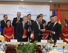 Nhiều đối tác lớn của Pháp ký kết hợp tác với trường ĐH Việt Pháp