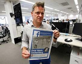 Tổng biên tập đối đầu với Facebook vì 'Em bé napalm'