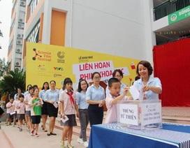 Gần 1700 học sinh cán bộ, giáo viên chung tay ủng hộ chương trình mổ tim miễn phí cho trẻ em nghèo