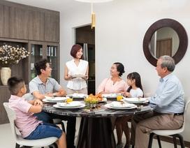 Căn hộ chung cư hạng sang dành cho gia đình nhiều thế hệ