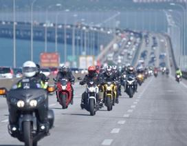 Hàng trăm xe PKL hội tụ tại trường đua Sepang trong Hành trình Honda Châu Á