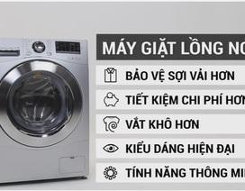 Máy giặt lồng ngang – xu hướng lên ngôi trong các gia đình hiện đại