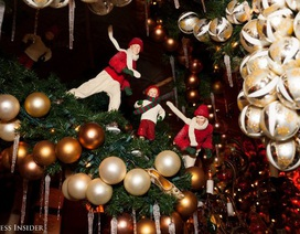 Nhà hàng ởNew Yorkchi 1,5 tỉ đồng để trang trí Giáng Sinh
