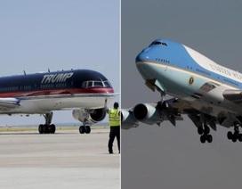 Phi cơ của ông Trump và Air Force One: Máy bay nào ấn tượng hơn?