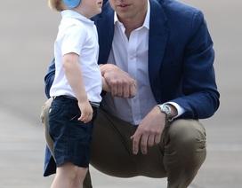 Bí quyết nuôi con đáng học hỏi của Hoàng tử Anh William