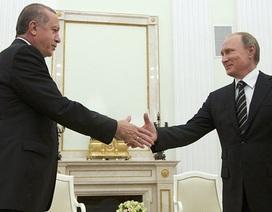 Tổng thống Nga Putin chỉ thị bắt đầu khôi phục quan hệ với Thổ Nhĩ Kỳ