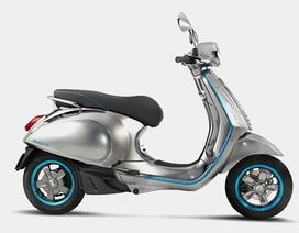 Vespa làm xe máy điện