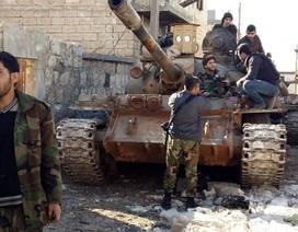 Hành lang vào Aleppo của phiến quân sắp bị chặn đứng