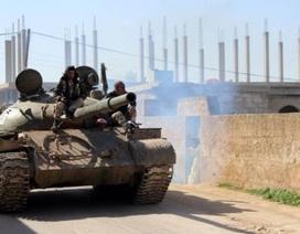Quân đội Syria giao tranh dữ dội với phiến quân ở Bắc Hama