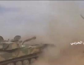 Quân đội Syria tấn công IS tại Palmyra