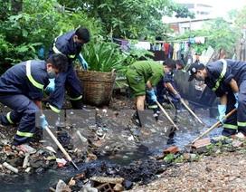 Chi 50 tỷ đồng nạo vét 4km rạch ô nhiễm