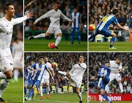 Real Madrid 6-0 Espanyol: C.Ronaldo lập hattrick