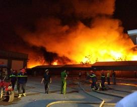 Vụ cháy kinh hoàng tại công ty nến có thể do nổ bình gas