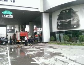 Hà Nội: Hỏa hoạn tại Toyota Mỹ Đình