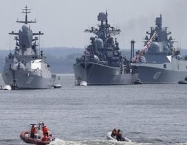 Nga tăng mạnh Hải quân, đã nắm trong tay hơn 100 chiến hạm