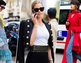 Những bộ đồ Street Style sành điệu nhất tuần lễ thời trang Paris