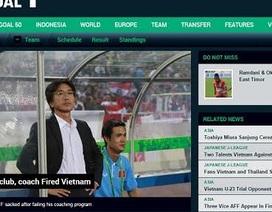 Truyền thông quốc tế đưa tin HLV Miura bị sa thải