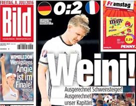 Báo giới Đức chỉ trích thậm tệ Schweinsteiger sau trận thua Pháp