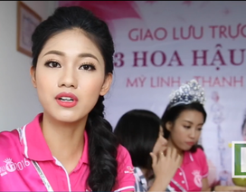 Á hậu Thanh Thanh Tú thể hiện quan điểm về người phụ nữ đẹp