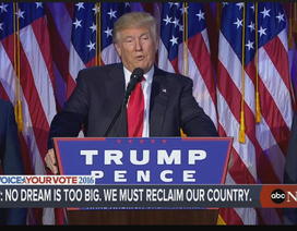 Xem phát biểu và tiệc mừng thắng cử Tổng thống của ông Donald Trump